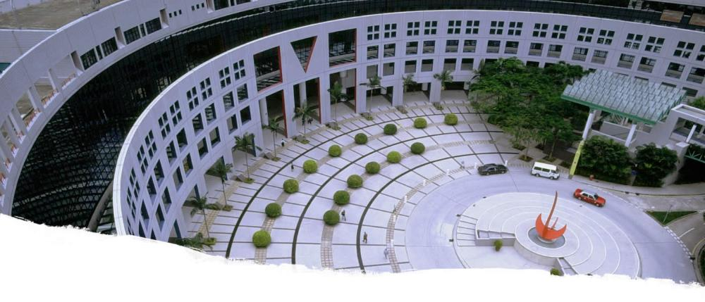 HKUST Arial View of Piazza
