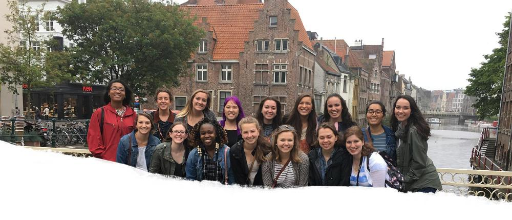 Ghent Lead Photo - Students
